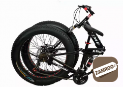 Fat foldable cycle with shimano 21 gears