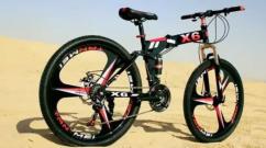 New X6 Foldable Cycle BM Series 21 Shimano Gears