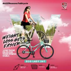 Best quality ladies bicycle in India