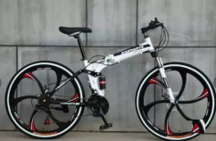 FOLDING CYCLES WITH 21 SHIMANO GEARS