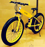 NEW FAT TYRE FOLDING CYCLE AVAILABLE WITH 21 SHIMANO GEARS