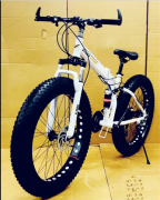 X Trex Fat Tyre Foldable Cycle with 21 Gears  Mountain Bike 26T