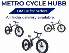 METRO CYCLE 21 SHIMANO GEARS FAT FOLDABLE CYCLE