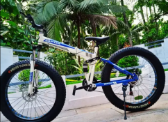 DZIRE 21 GEAR SHIMANO FAT TYRE FOLDABLE NEW CYCLE