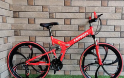 Downhill foldable bicycle