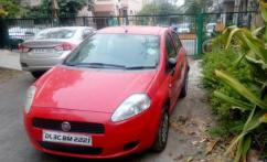 2009 Model Fiat Punto In Red Color