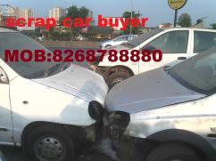 scrap car buyer sell your car in scrap in mumbai Navi mumbai Panvel