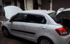 White swift dzire Modal 2016