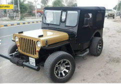 Divu modified jeeps