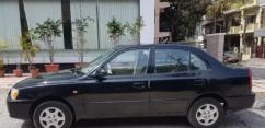 Hyundai Accent CNG model 2010