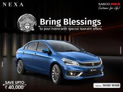 Nexa Ciaz Car price in Hyderabad