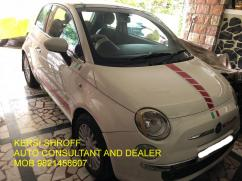 FIAT 500 BUY SELL KERSI SHROFF AUTO CONSULTANT AND DEALER