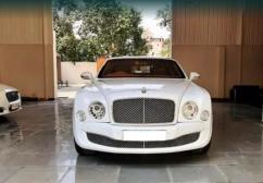 Bentley Mulsanne V8 model 2012