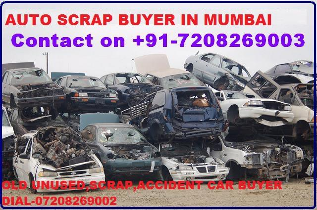 OLD UNUSED,SCRAP CAR TOTAL LOSS ACCIDENT CAR BUYER IN MUMBAI