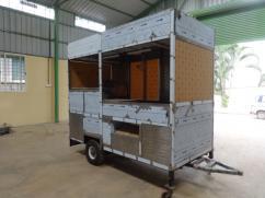 Food Cart Trailer-(Modern Kitchen on wheels)