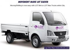 Mini Trucks for Rent Bangalore,Chennai & Hyderabad - Lotrucks.com