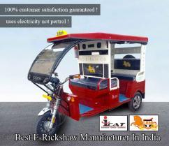 Best E Rickshaw Manufacturers