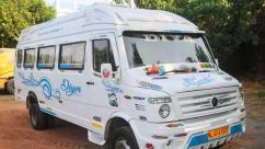 2012 force tempo traveller 26 seat a/c, p/s, paravur work, new tyres