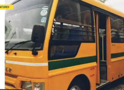 Eicher school buses are for sale.