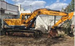 Hyundai 140 lc excavator on sale(Poklen)