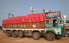 Truck 14 tyre body  Modal 2015