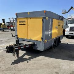2010 Atlas Copco XAS1600CD6 Compressor One Machine Only