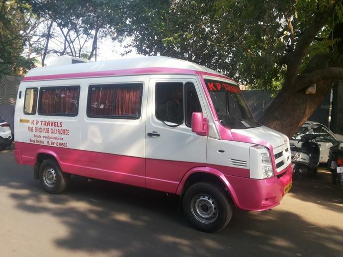 Traveller sell in very good condition Rs. 1000000 negotiable