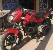 2010 Model Bajaj Pulsar In Red Color