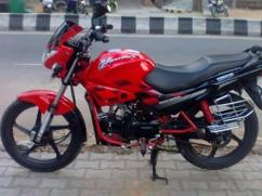 2012 Model Hero Honda Glamour Bike