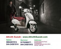 Suzuki Access 125 Scooter Dealer & Service Center in OMR