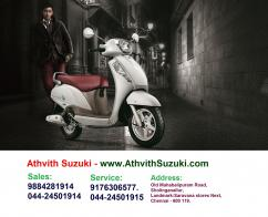 Suzuki Access 125 Scooter Dealer & Service Center in OMR