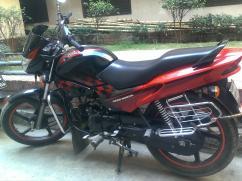 Hero Honda Glamour 125cc Bike
