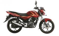 Bajaj Discover In Red Color Available