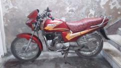 Excellently maintained hero Honda bike
