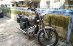 used Royal Enfield Bullet 500 cc Marsh grey,