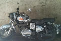 used Royal Enfied Classic 500 cc model bullet 2013