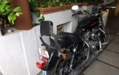 used Harley Davidson 883 just driven 6503 kms