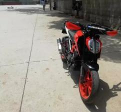 used 2018 KTM Duke 390cc