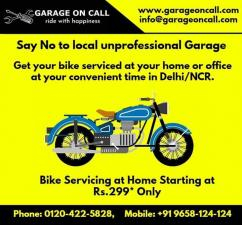 Bike Service and Repair at Home in Delhi NCR