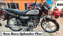 Hero Splendor plus model 2021