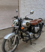 Royal Enfield classic double disk abs model 2019
