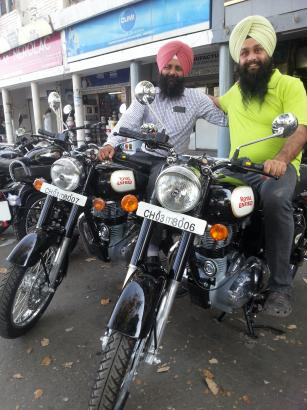 Bike On Rent In Chandigarh 9417018737