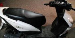 2013 Model Honda Dio In White Color