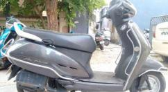 Honda Activa In Grey Color