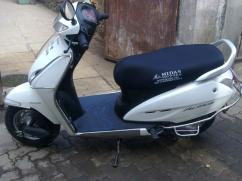 White In Color Honda Activa Available