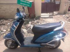 Honda Activate in Blue Color Available