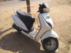 Honda activa In white color available