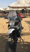 used royal enfield himalayan 2018 for sale in sec 125