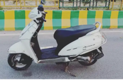 Self Start Honda Aviator model 2012
