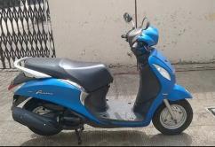 Yamaha fascino model 2015